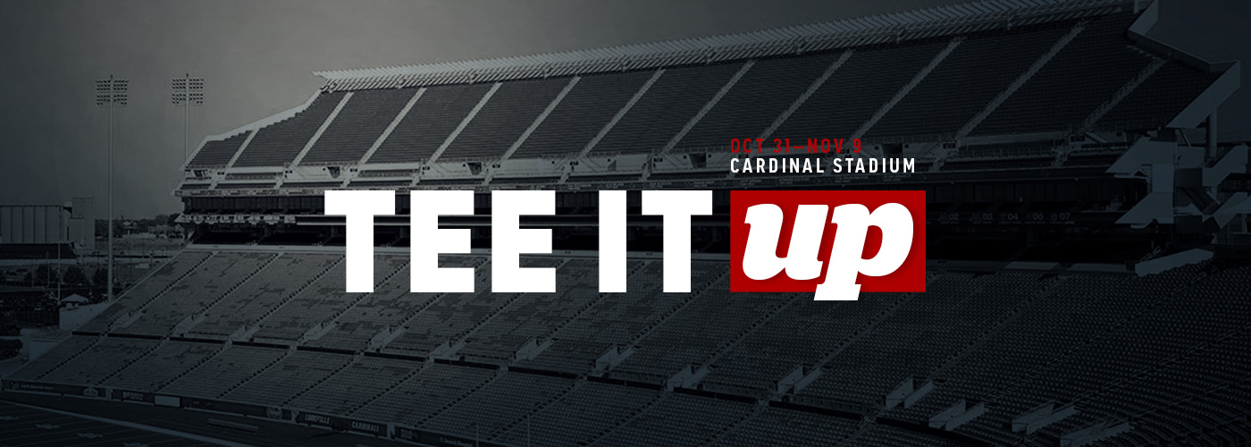 tee it up promotion - cardinal stadium